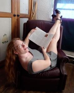 reading textbook