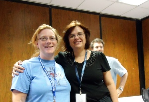 Sarah Hoyt and I met at LibertyCon 25 last year.