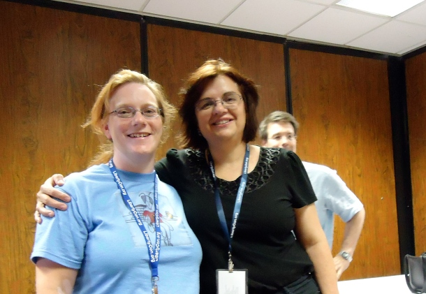Sarah Hoyt and I met at LibertyCon 25 last year.