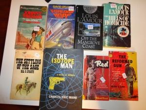 Cedar Sanderson's old books