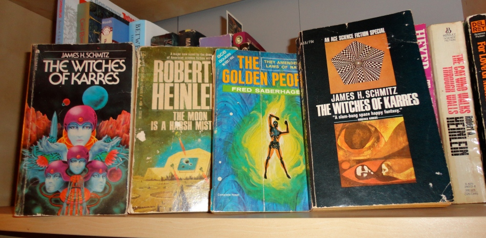 Classic Pulp SF Book Covers