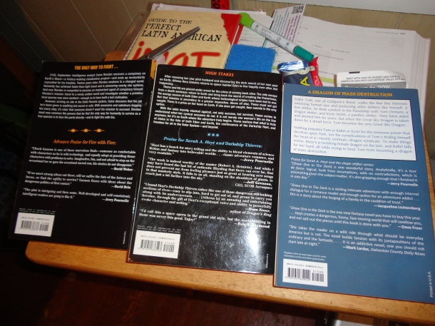 Book cover backs