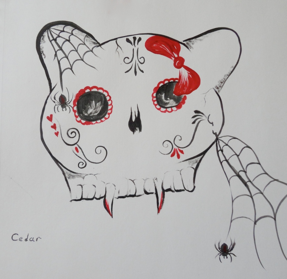 Kello Kitty Sugar Skull