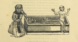 The Lamentable Vision of the Soul, an image from the British Library collection