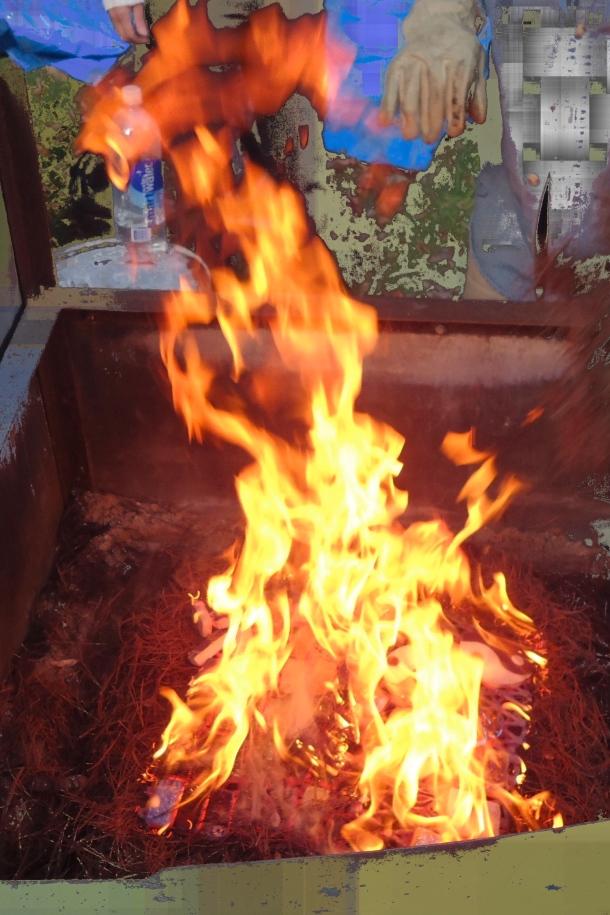 Raku firebox
