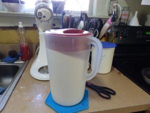 sugar pitcher