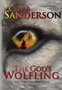 The God's Wolfling cover