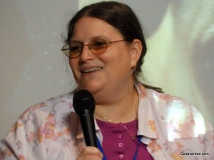 The inestimable Toni Weisskopf (taken at LibertyCon 27)
