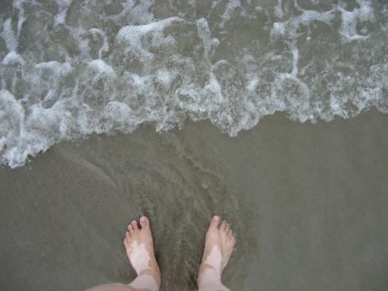 Toes in the Sand…