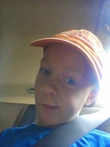 the Little Man's selfie