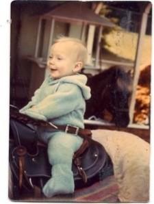 Horsey girl