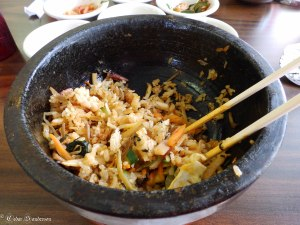 bibimbap at Yungs Cafe