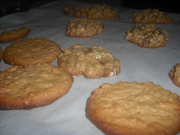 Cookie baking