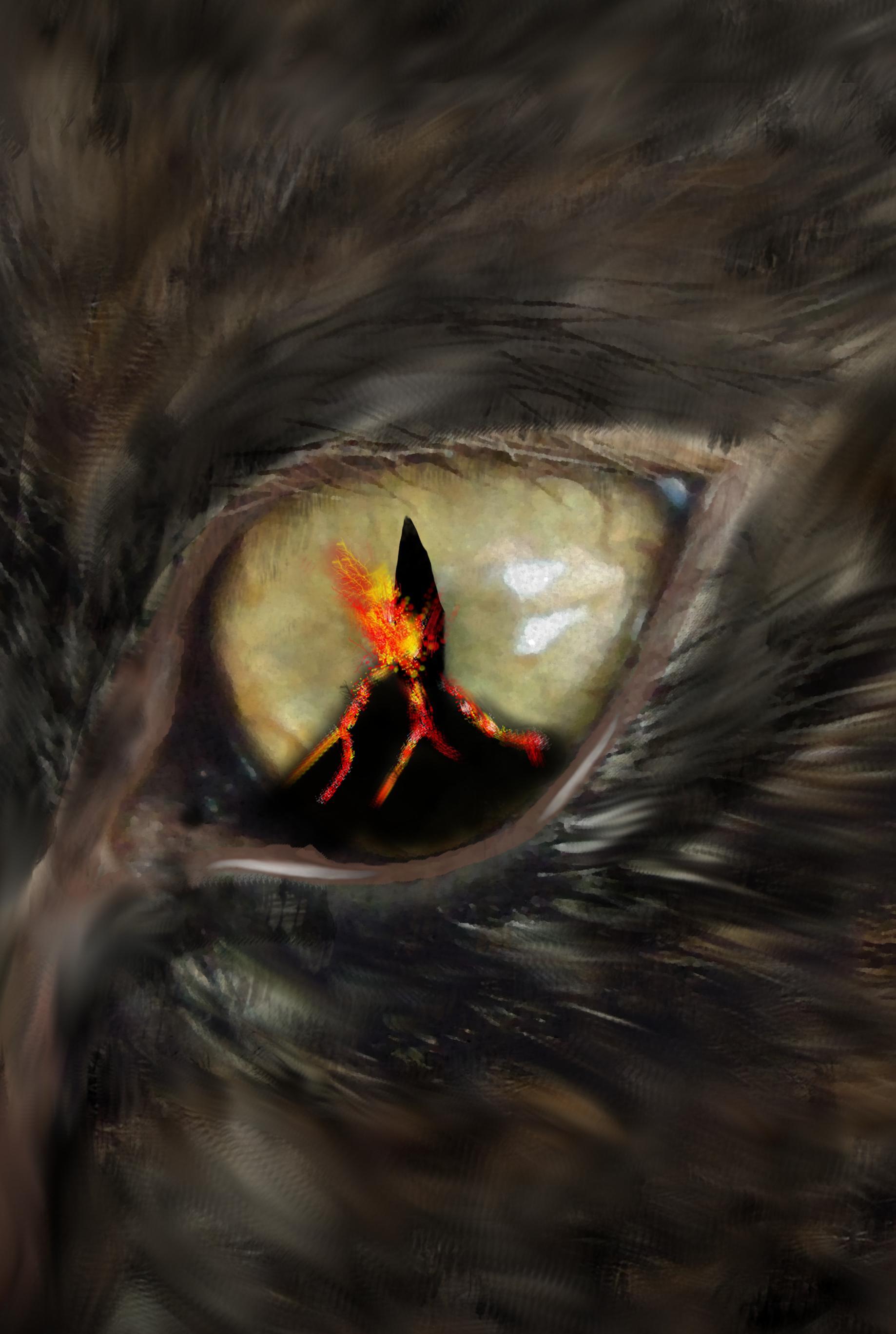 Cat's Eye volcano