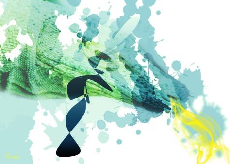 Dragon splash