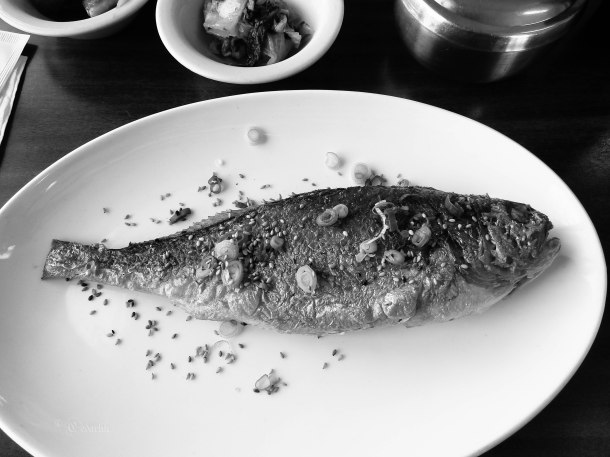 Grilled Croaker